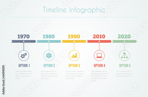 Timeline Infographic - 64941095