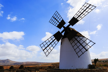 Windmill in Antigua, Fuerteventura, Canary Islands