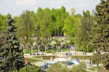 Центральный парк культуры и отдыха в Москве