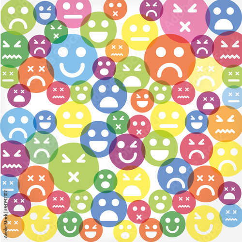 Vector smile icon