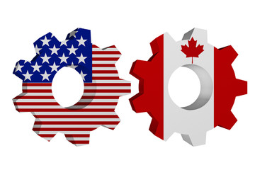 US working with Canada