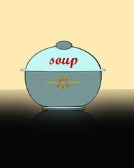 contenitore per zuppe