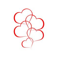 векторный логотип сердце