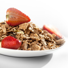 healthy still life - muesli