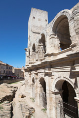 Arles Amphitheatre, Tower and Arcades