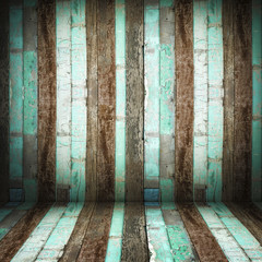 Room perspective,Old Grunge wooden wall