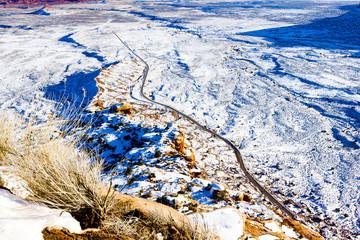 Moki Dugway Road, Utah, USA