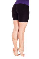 strengths and inflated female legs