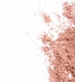 Fototapety Face powder over white background