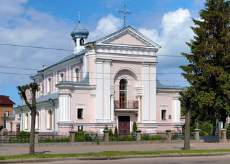 Church of St. Barbara in Berdychiv, Ukraine
