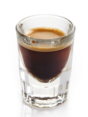 Espresso coffee glass