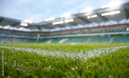 Papiers peints Stade de football green stadium