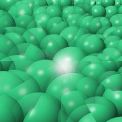 sfere verdi