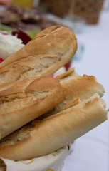 Baguette-Sommerparty