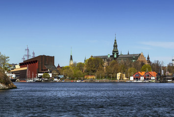 Nordic Museum and Vasa ship Museum, Stockholm