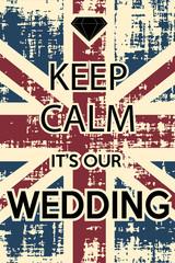 calm wedding