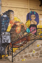 Colourful Murals of Valparaiso