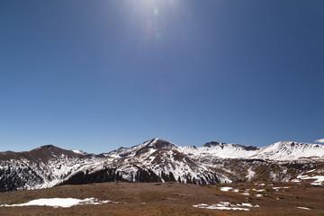 snow on independence pass colorado