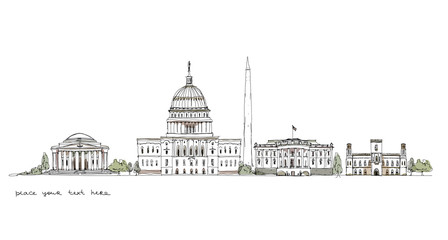 Washington, sketch collection