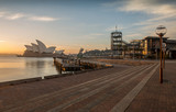Sunrise at Opera house landmark of Sydney, Australia - 64964838
