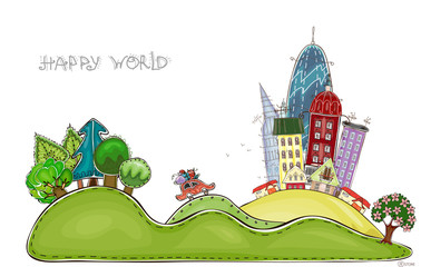 City street, Happy world collection