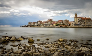 Small Croatian Town Umag