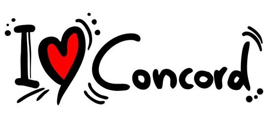 Concord love