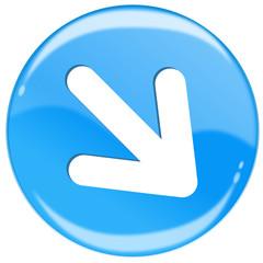Pfeil Button blau  #140514-svg09