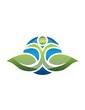 global foundation nature logo abstract association leaf tiara