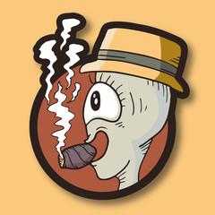 Smoke puppet