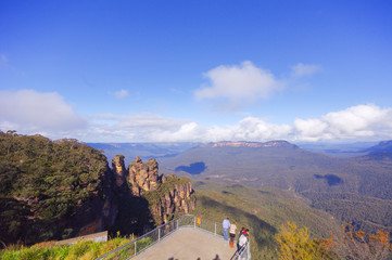 Katoomba lookout view