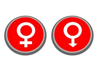 buton cinsiyet işareti