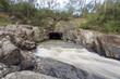 Leinwanddruck Bild - Pound Bend Tunnel