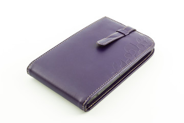 Leather card holder wallet.