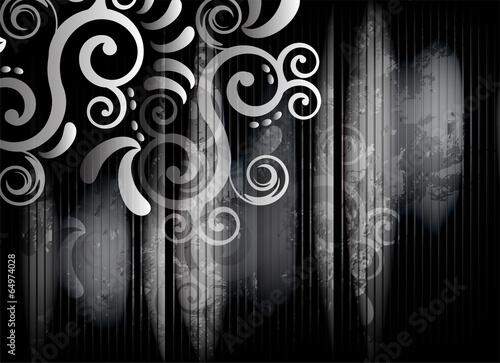 Corner in Black and White