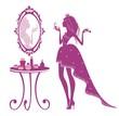 Принцесса у зеркала