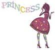 Принцесса в полосатых чулках