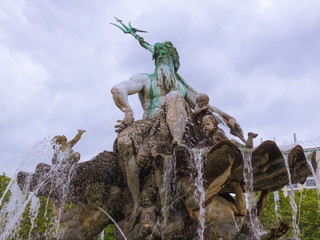 Neptunbrunnen fountain in Berlin