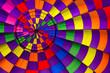 Hot air balloon inside - 64975409