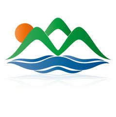 логотип природа