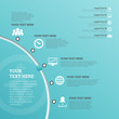 Part Circle User Interface Infographic