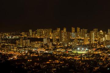 ハワイの町