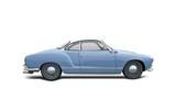 VW Karmann Ghia isolated on white