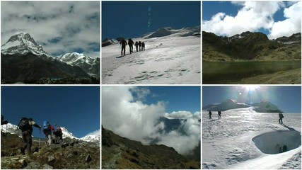 Hiking montage