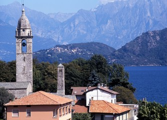 Town and Lake Como, Menaggio, Italy © Arena Photo UK