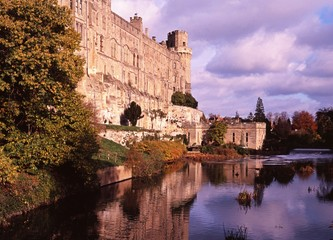 Castle and river Avon, Warwick © Arena Photo UK