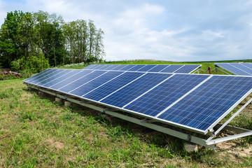 Solar Panel im Freien