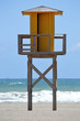 Lifeguard Tower at Vera Playa, Almeria, Spain