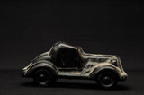 Vintage car clay model