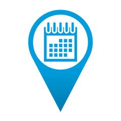 Icono localizacion simbolo calendario